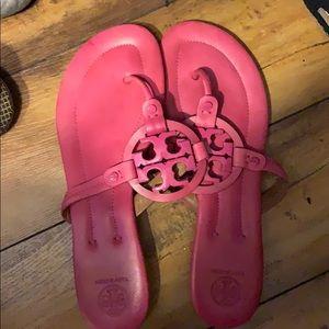 Tory Burch Pink Miller sandals 10.5